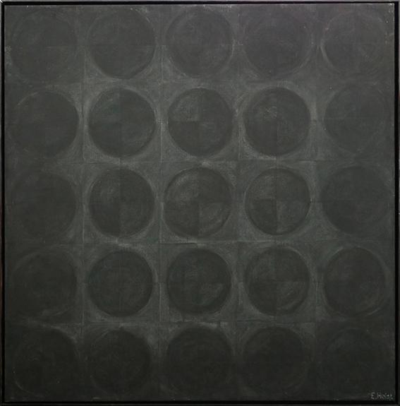 svarta cirklar